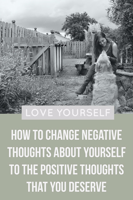 We all engage in negative self-talk. We say things to ourselves that we wouldn't say to anyone else. But we don't have to. We can change our negative thoughts and turn them into the positive thoughts that you can use to show yourself the love that you deserve! Click the image to find out how.