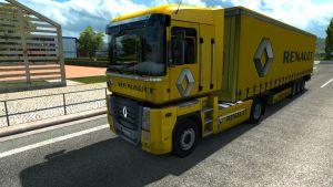 Renault Company skin + trailer