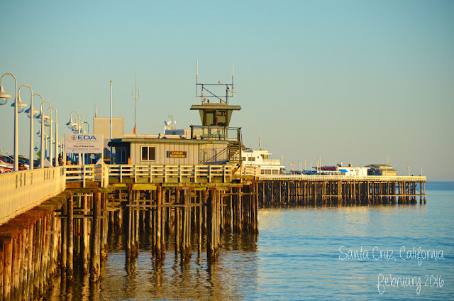 Santa Cruz Wharf, Californie, USA