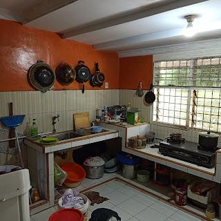 Dapur Jual Rumah Murah Bentuk Kantong Pasti Bawa Rejeki Di Jl Karya Wisata Ujung Medan Johor Sumatera Utara