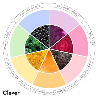 color wheel chart for natural dye