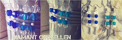 Handgemaakte juwelen diamant oorbellen