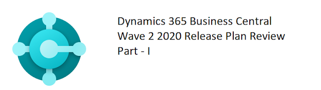 Wave 2 2020 Release Plan for Business Central Review - 1