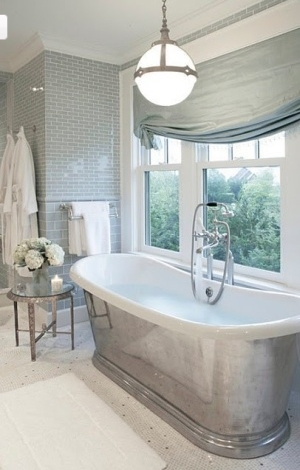Inspiring Objects: Silver Bathtubs | In Jackie's Shoes