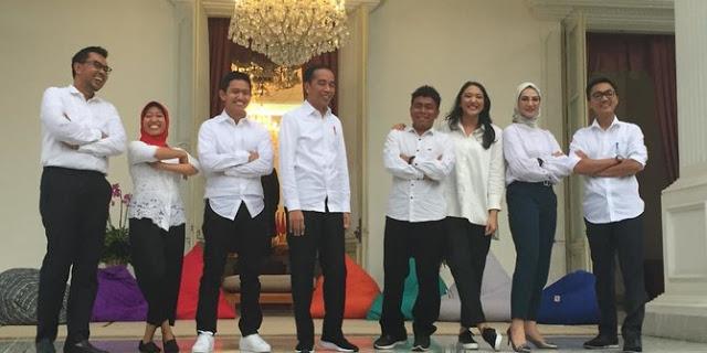 Kerja Paruh Waktu, 7 Staf Khusus Presiden Jokowi Dapat Gaji Rp 51 Juta