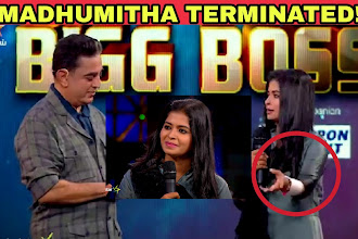 Madhumitha attempts suicide and is terminated from Bigg Boss Tamil 3