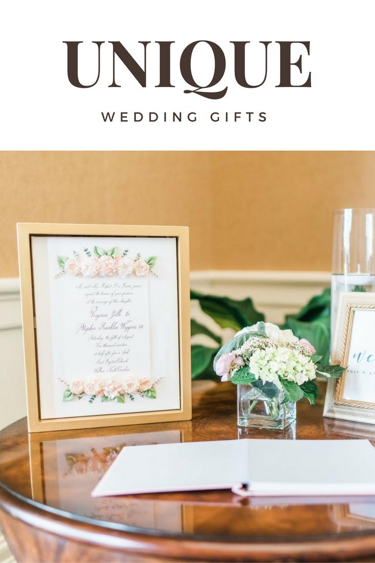 3 Unique Wedding Gifts