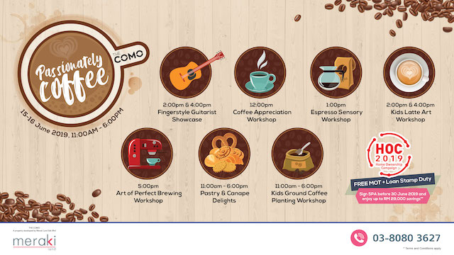 Passionately Coffee @ The COMO Bukit Jalil KL