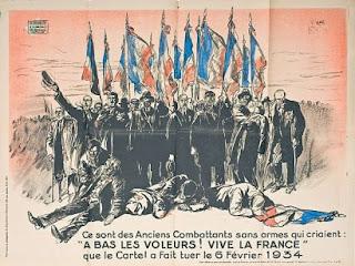 6 febbraio 1934, La Rochelle, Brasillach, Francia, Gilet Gialli