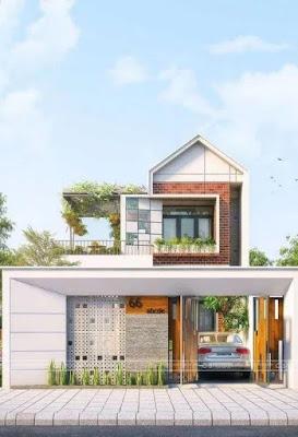 5 Desain Rumah Tropis Minimalis untuk Pasangan Baru