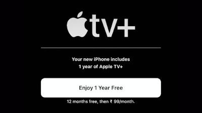 الحصول على إشتراك مجاني على Apple TV+