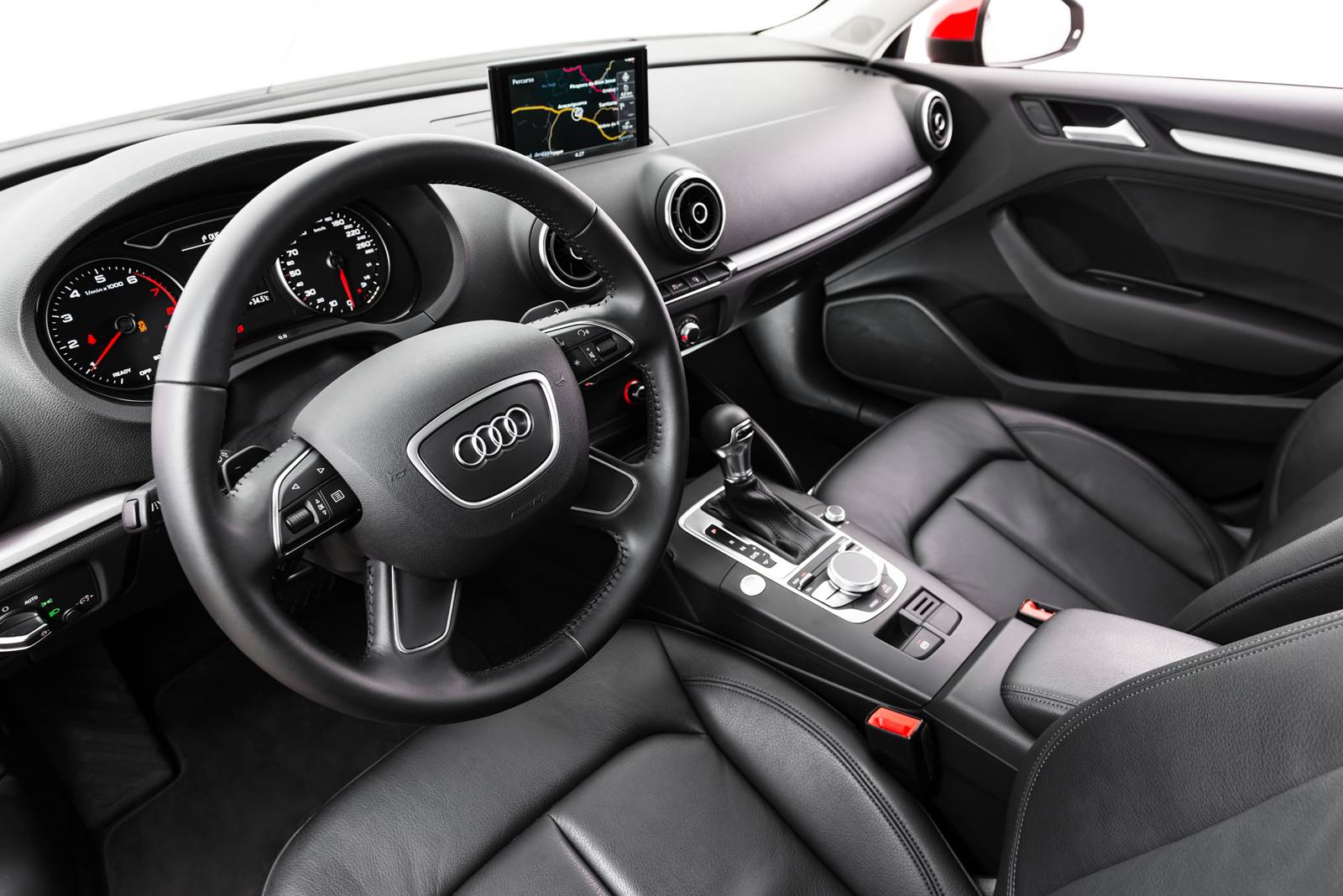 Audi A3 Sedan Flex x VW Golf DSG - interior