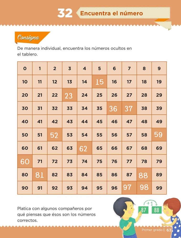 Libro de textoDesafíos MatemáticosEncuentra el númeroPrimer gradoContestado