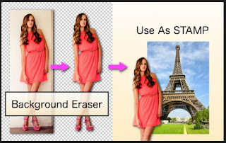 Eraser Tool photoshop android