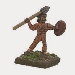 GAU9 Gaesatae Javelinmen (naked).