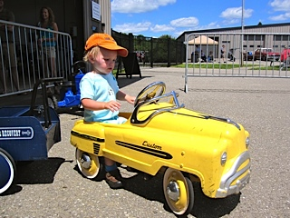 Grandson and car: LadyD Books