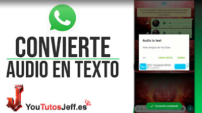 convertir mensajes de voz en texto whatsapp