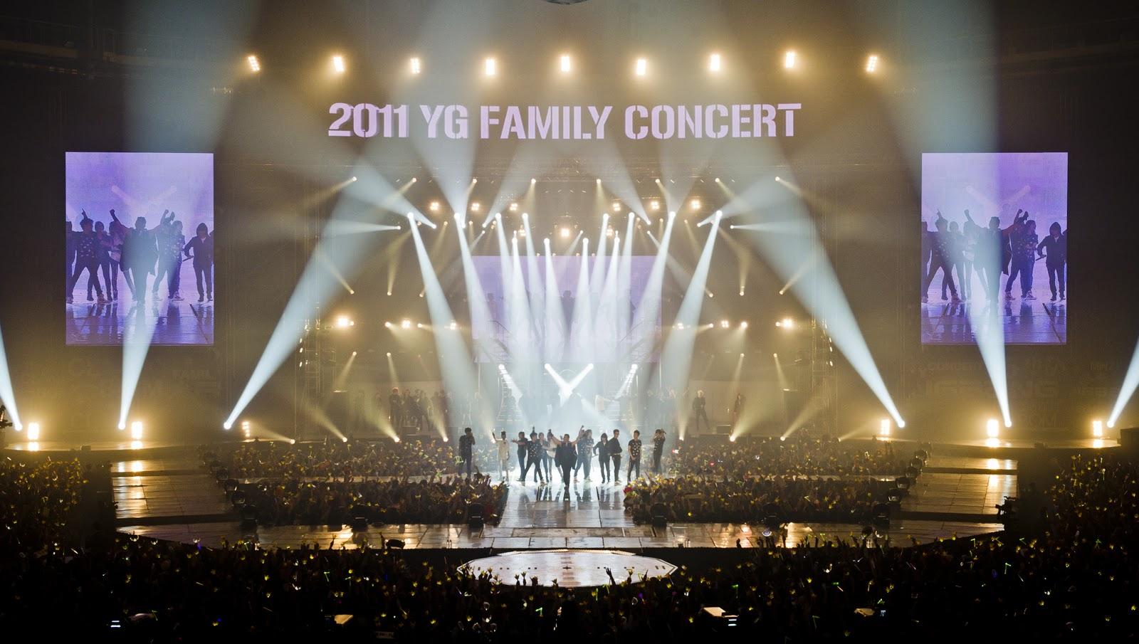 PopinSe7en: [PICS] YG Family Concert 2010 DVD - Thank You Box
