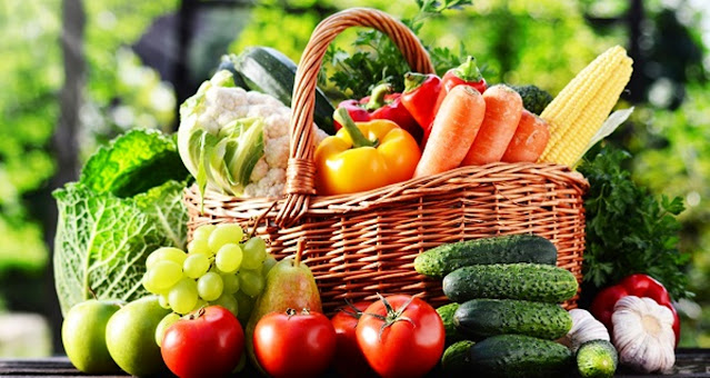 Fruits and vegetables to lose body fat