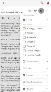 fitur blogspot terbaru