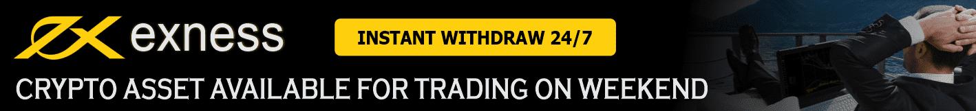 Trading di Akhir Pekan dengan Exness