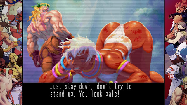Street Fighter 30th Anniversary Collection - Street Fighter III - New Generation - Elena's ass