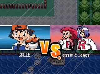 Pokemon The Movie Game para Android Batalla Combate Vs Team Rocket