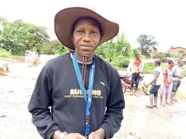 Guinée : Kindia, la déviation de Linsan coupée, un véritable calcaire pour les usagers de la route nationale numéro 2
