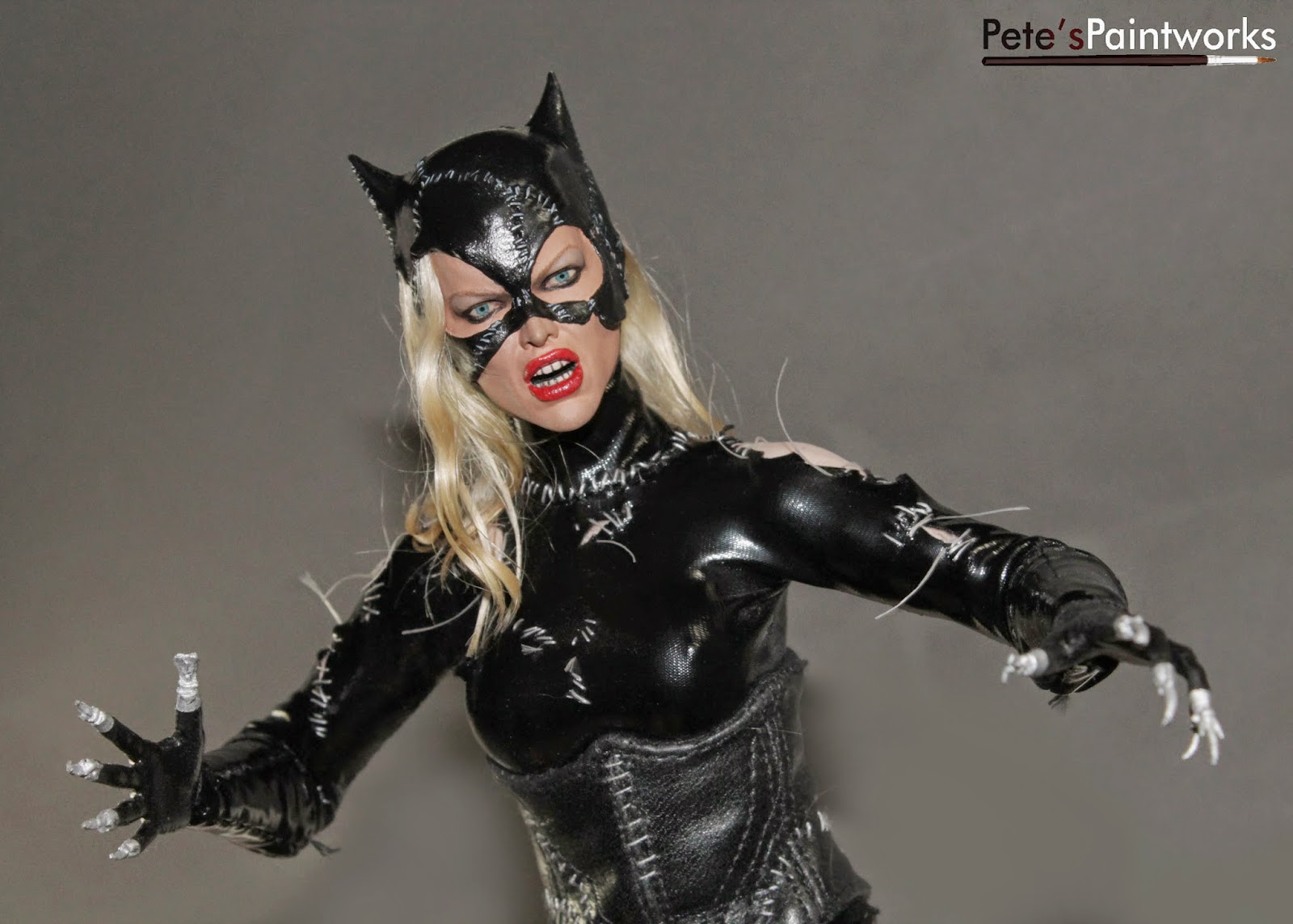 petes custom 1 6 figures batman returns catwoman. Black Bedroom Furniture Sets. Home Design Ideas