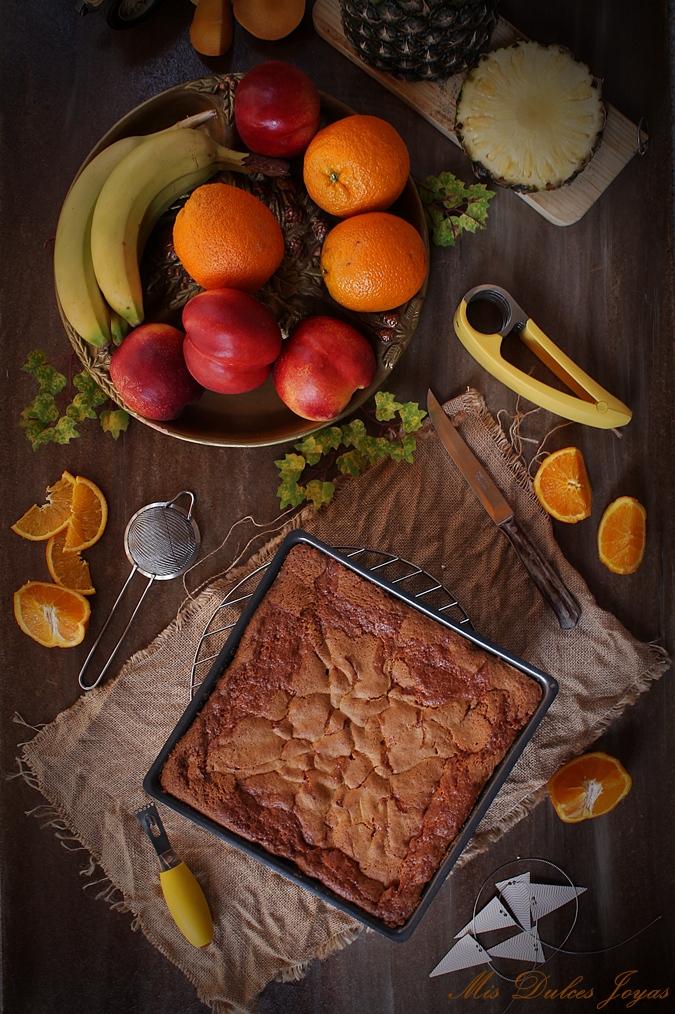 Bizcocho de frutas variadas