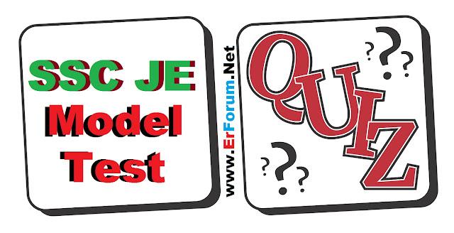 ssc-je-model-test-quiz