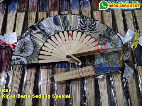 Jual Kipas Batik Sedang Spesial