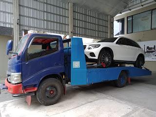 kirim mobil truk gendong