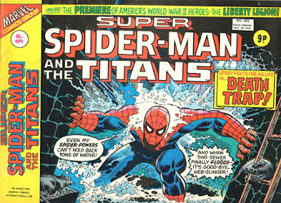 Super Spider-Man with the Titans #203