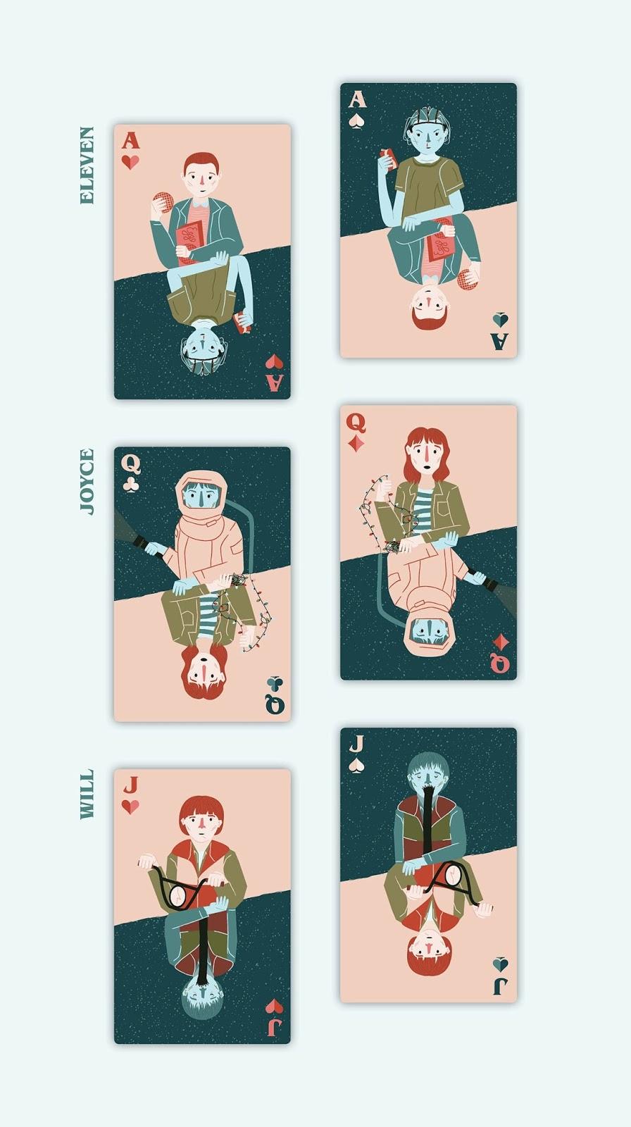cartas-de-poker-inspiradas-en-stranger-things