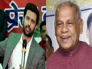 सियासी खींचतान के बीच जीतन राम मांझी ने चिराग पासवान से की बातचीत, जानें क्या है पूरा मामला