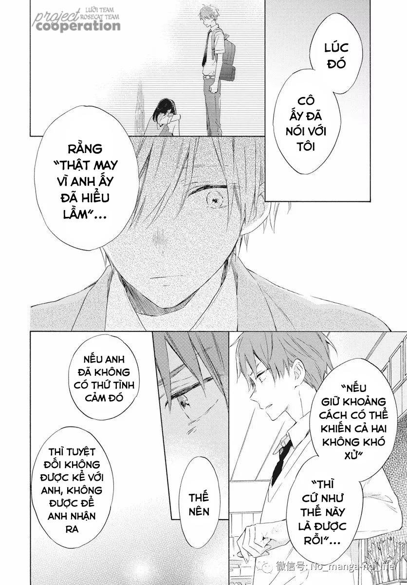 Kimi wa Haru ni Me wo Samasu chap 16 - Trang 15