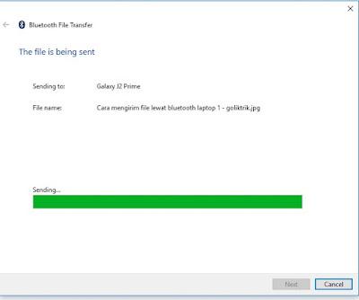 Cara Mengirim File Melalui Bluetooth Dari Hp ke Laptop Dan Sebaliknya