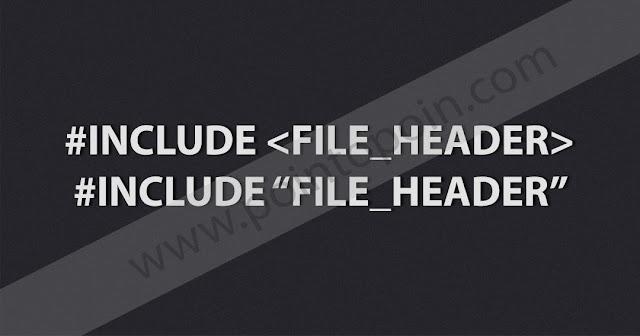 File Header Pada Bahasa C
