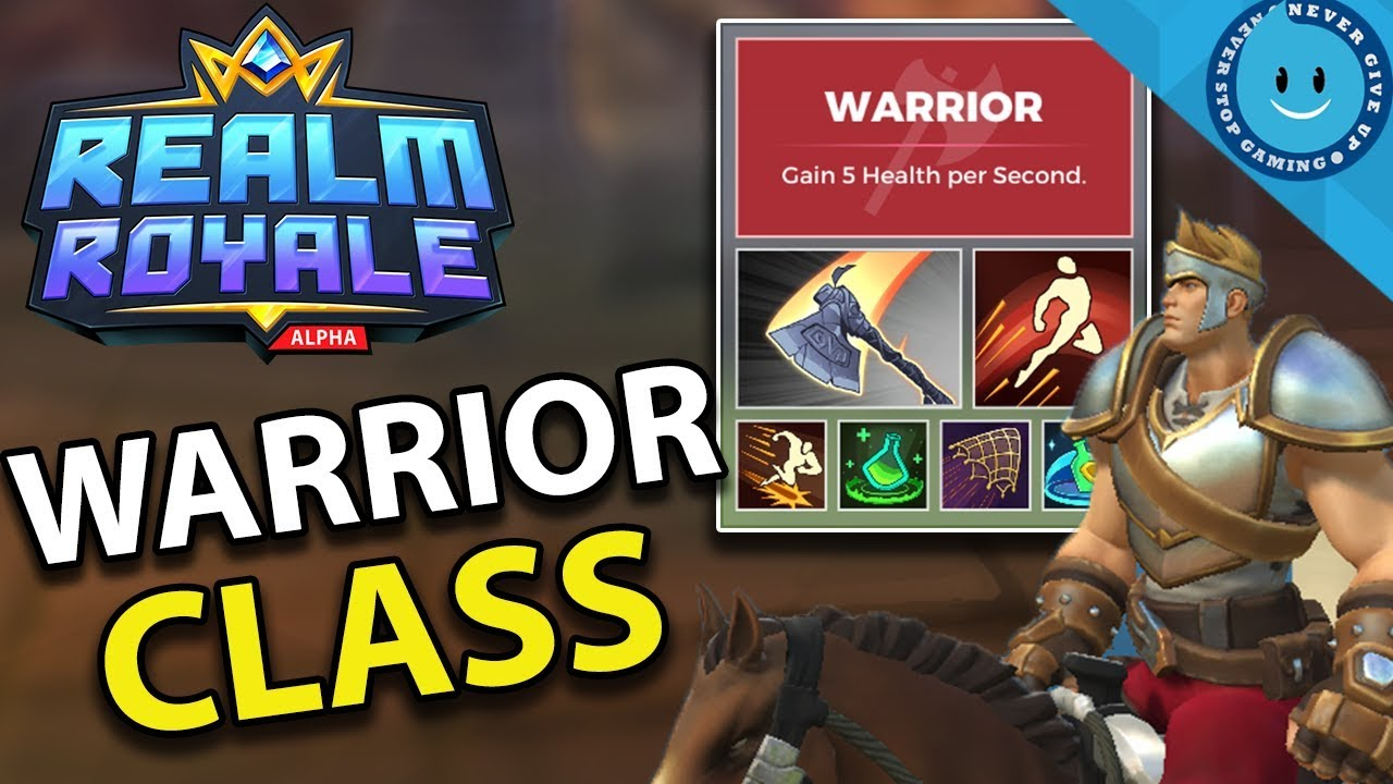 Complete Beginner's Guide Realm Royale: Warrior guide