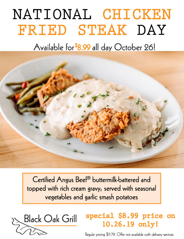 National Chicken Fried Steak Day Wishes Awesome Picture