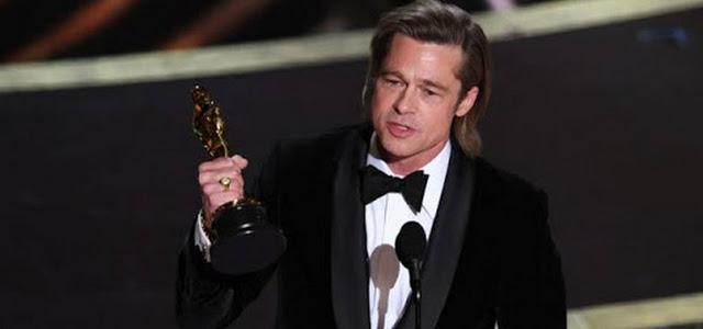 Brad Pitt leva Oscar de Melhor Ator Coadjuvante
