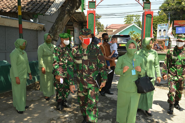 Jalin Silaturahmi Dandim 0723/Klaten Kunjungi Koramil 05/Jatinom