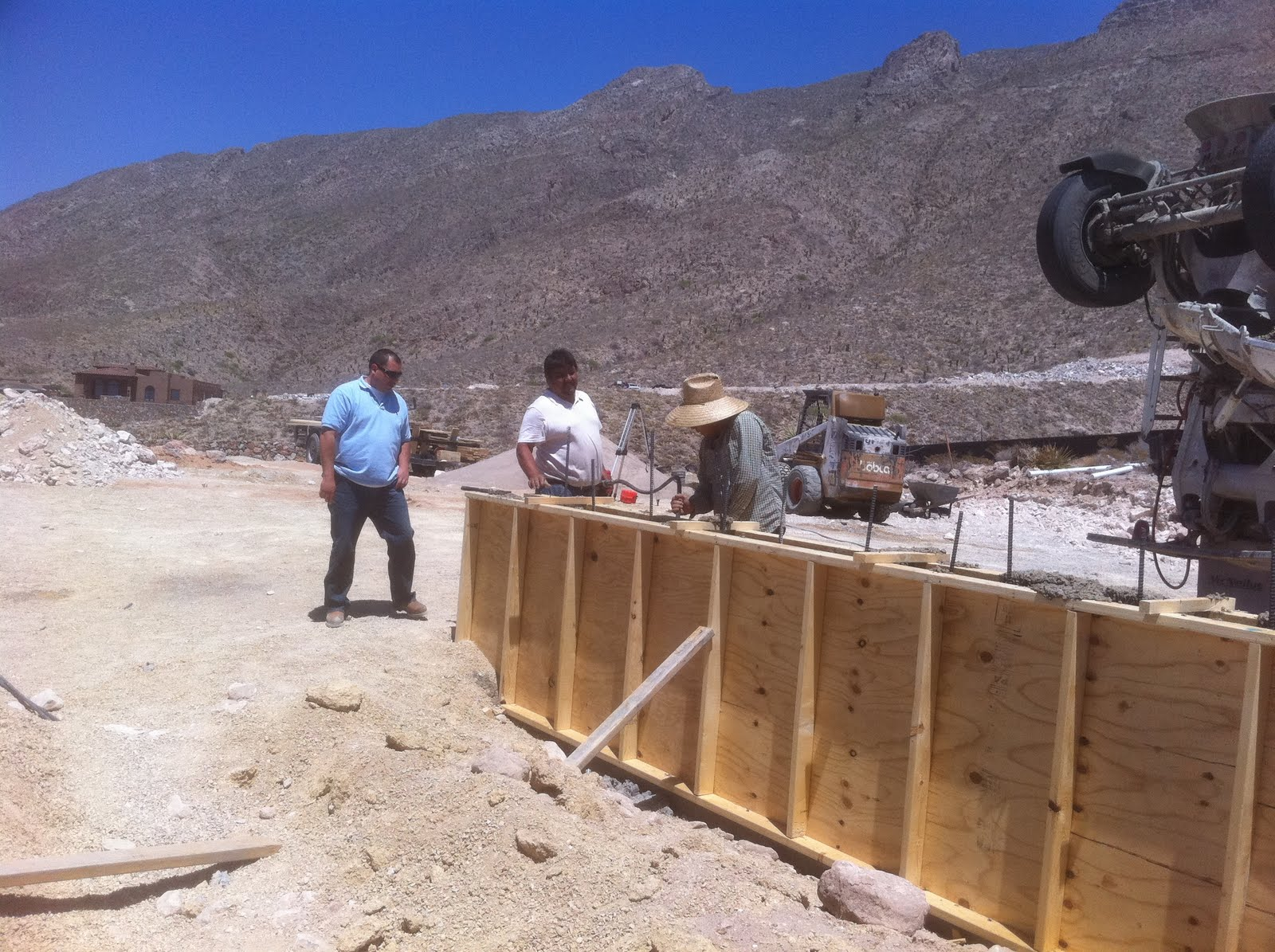Stockton Residence Stem Wall Complete Foundation Forms
