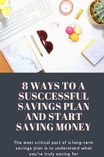 Ways to a Susccessful Savings Plan and Start Saving Money 8 Ways to a Susccessful Savings Plan and Start Saving Money