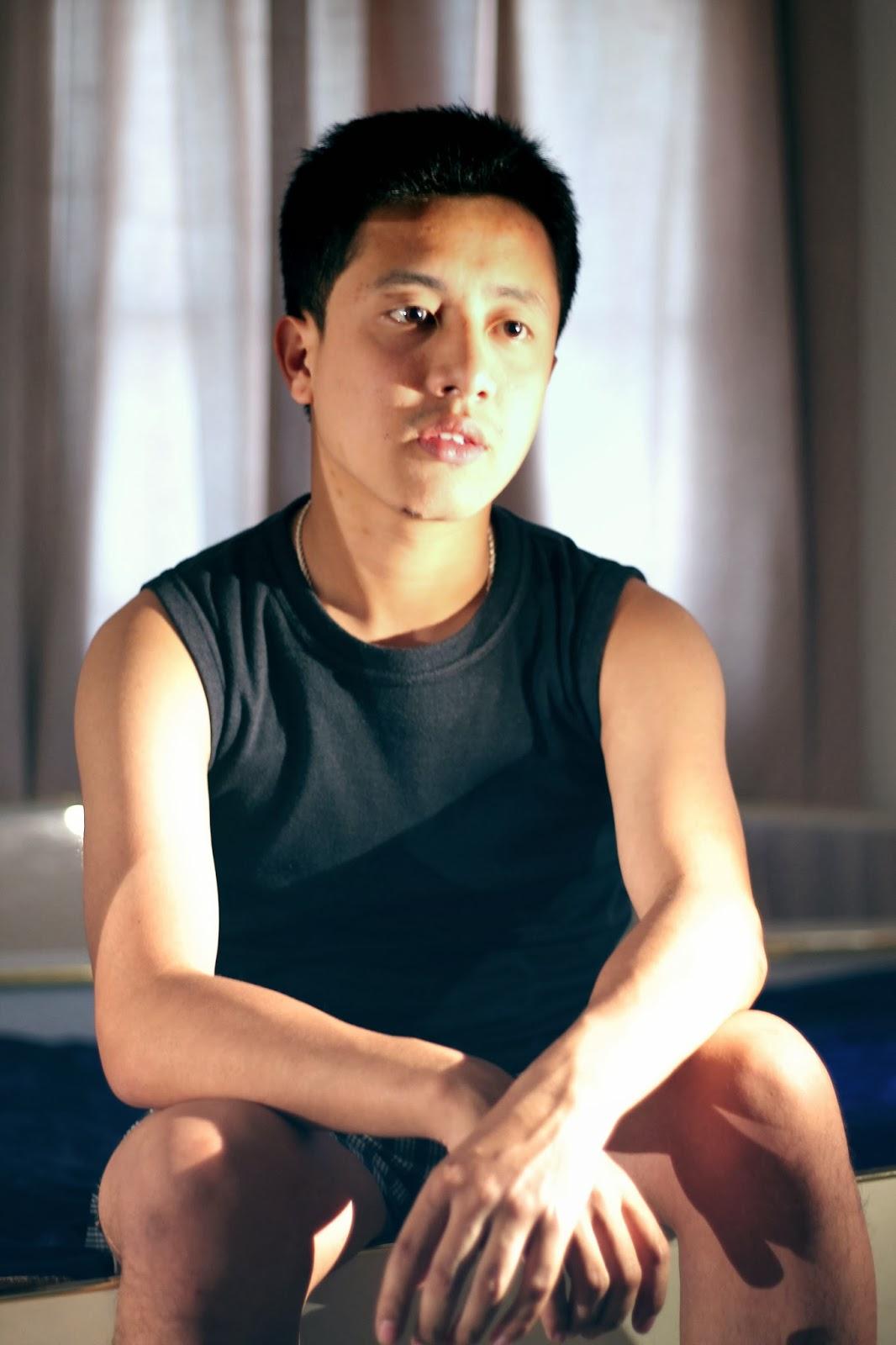 A shot by Allan. In picture: Nischal Gurung