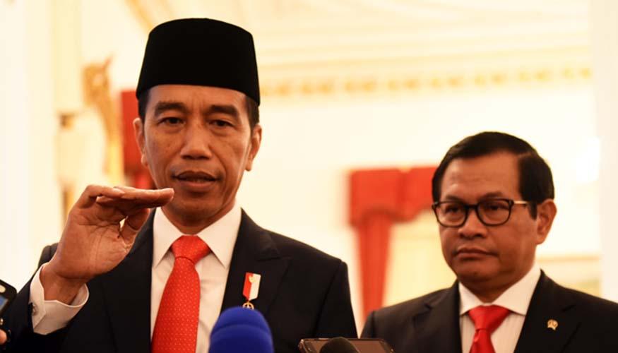 Jokowi dan Pramono Anung