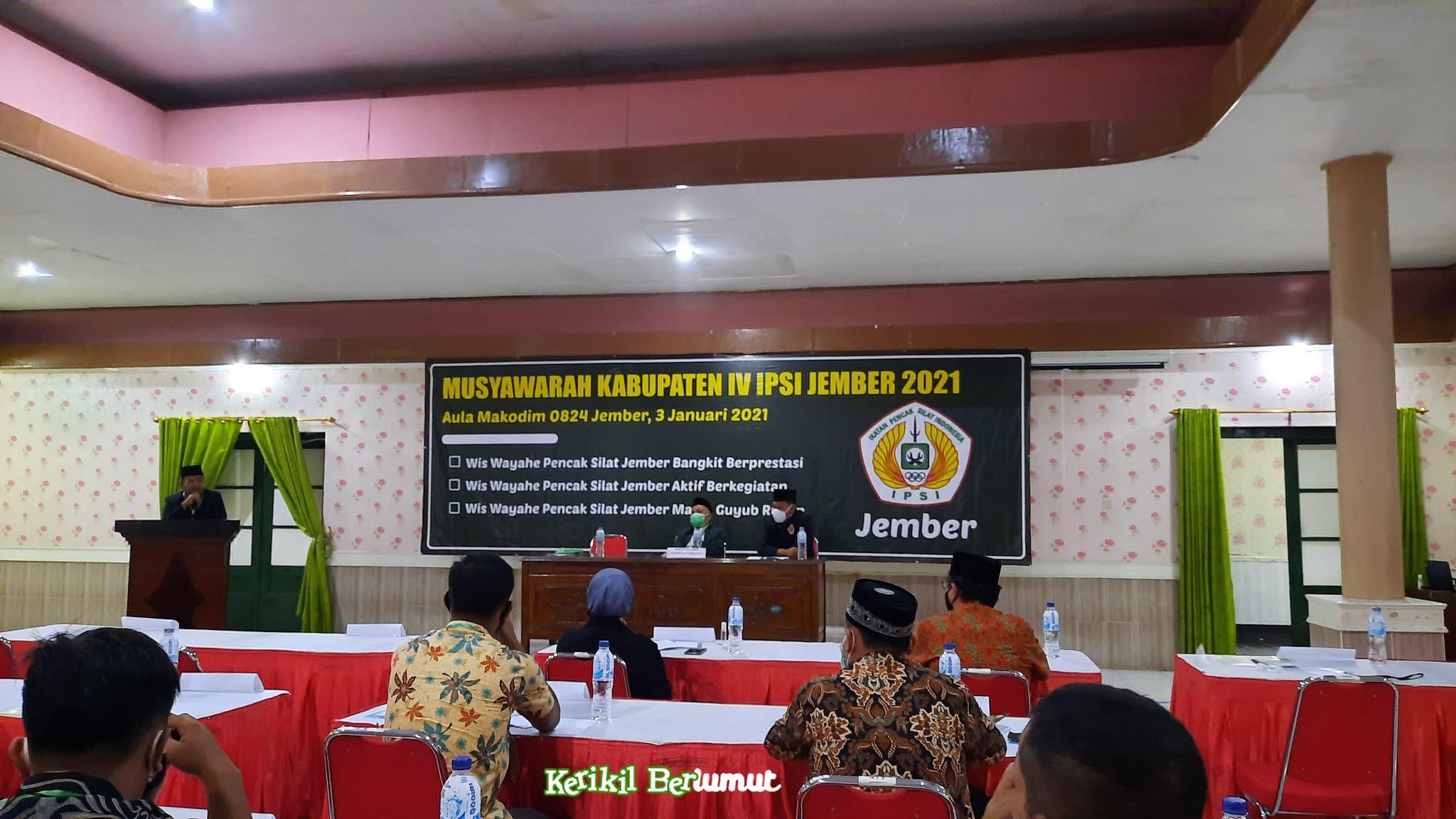 Musyawarah Kabupaten IPSI Jember