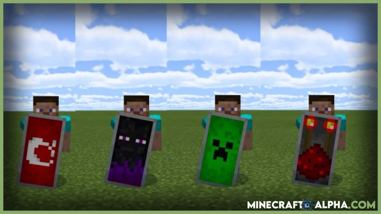 Minecraft How To Paint A Shield