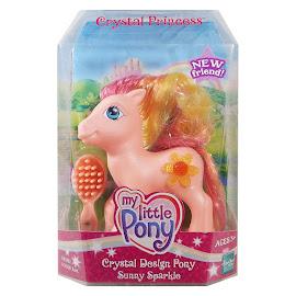 MLP Sunny Sparkles Crystal Design  G3 Pony